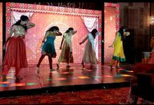 Navin Weds Preethi by Kriya Wedding and Sangeet Choreography