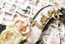 Handmade 10 inch Chunky Wedding Photo Album by Jasbeanie Designs