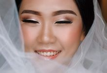 Wedding Makeup for Ms Valerie by Rere Hou Make-Up Art