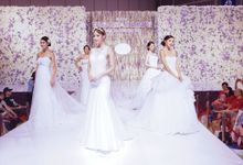 Official venue decoration for 84th - 91th HONG KONG WEDDING FAIR by FOUNDATION WALLFLOWER