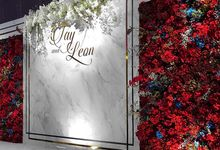 Tay & Leon Big Day Floral Decoration by FOUNDATION WALLFLOWER