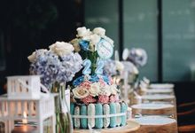 Table Decoration - Blue Theme by Wonder Wheel Project