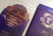 Yudi & Fani Wedding Invitation by Gracia The Invitation