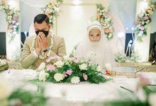 Intimate Wedding of Tantri & Bagas by MC Faiz