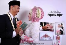 WEDDING PUPUT & ANJAR by FRAME PHOTOWORK