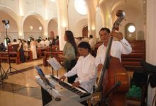 wedding musicians by gstring ensemble