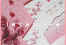Simple Beautiful 'Sakura' by Levellove Card