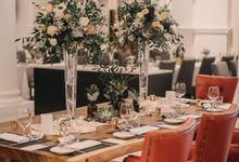 Gloria & Steven AD wedding by Ever & Blue Floral Design