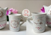 Wedding Deny dan Alen by Mug-App Wedding Souvenir