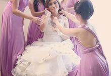 David And Friska Wedding by Convertibledress