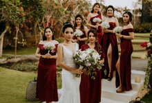 The Wedding of Alkisah & Michael by GAËTA Bridal Couture