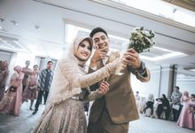 Resepsi Pernikahan Ayya & Irwin at Grand Mahakam by GoFotoVideo