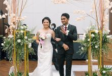 Wedding of  Panji & Christabel @Lemo Hotel Serpong by Sola Fide Organizer