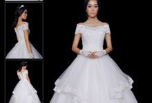 WEDDING GOWN  XVII by JCL FOTO BRIDAL SALON