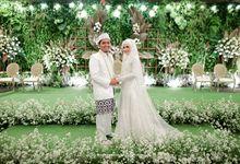 Pernikahan Indoor Rasa Outdoor by Kinang Kilaras Wedding