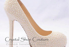 Crystal shoe couture by Crystal shoe couture