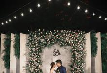 The wedding Eric & Aska by Gedong Putih