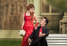 Prewedding of Hosty & Silvy by Gembira Photo Studio Bridal Salon
