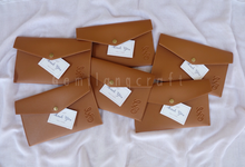 """""""Premium"""" leather pouch for Gihon&Sheilla wedding✨ by Gemilang Craft"""