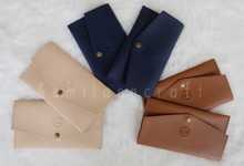 """premium"" leather pouch for Ayu&Beylan wedding✨ by Gemilang Craft"