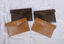 """""""Standard"""" leather pouch for Fina&Adhie wedding✨ by Gemilang Craft"""