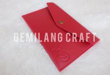 Premium envelope for Vincent&Marcella wedding✨ by Gemilang Craft