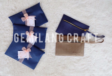 Dakota pouch for  Nicko&Eveline welcoming baby✨ by Gemilang Craft