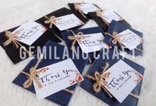 Card wallet for Desi&Servianto wedding✨ by Gemilang Craft