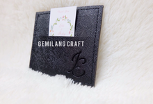 Card wallet for Eli & Irdy wedding✨ by Gemilang Craft