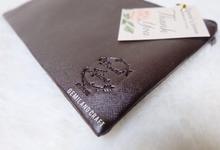 Standard zipper for Bernard & Lusiana wedding✨ by Gemilang Craft