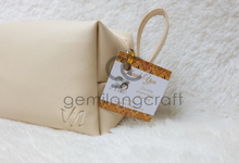 Standard boxy pouch Nintia & Vickry by Gemilang Craft