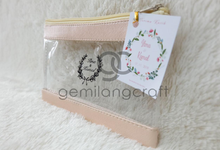 Special Lily pouch for Ilma & Kamal wedding✨ by Gemilang Craft
