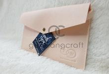 Prada envelope for Rian & Widya wedding✨ by Gemilang Craft