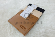 Premium Card Wallet for Kim & Ovi wedding✨ by Gemilang Craft