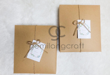 Premium boxy with craftbox for Ame & Yayan wedding by Gemilang Craft