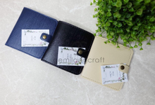 Premium B-wallet for Ibell & Robby wedding by Gemilang Craft