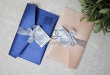 Prada Envelope with ribbon for Ravenska & Bangga✨ by Gemilang Craft