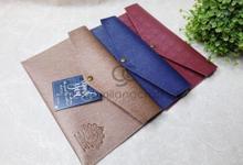 Prada envelope for Maylia & Al Bari wedding✨ by Gemilang Craft