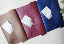 Prada envelope for Suci & Yuga wedding✨ by Gemilang Craft