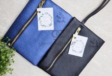 Dakota pouch for Fauziah & Daud by Gemilang Craft