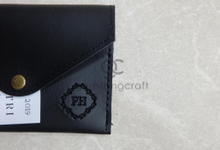 Card coin case for Putri & Hasbi by Gemilang Craft