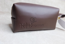 Premium boxy pouch Kevin & Clarissa by Gemilang Craft