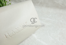 Premium boxy pouch Hayyu skin care by Gemilang Craft