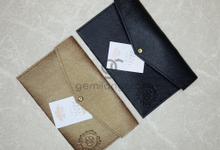 Special prada envelope pouch for Erma & Dhovi by Gemilang Craft
