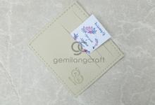 Premium card wallet Agus Yanto and Mariyanti by Gemilang Craft