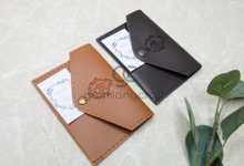 Standard card coin case for Tony & Sylvia by Gemilang Craft