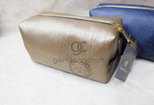 Premium boxy pouch for Randi & Dian by Gemilang Craft