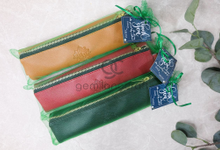 Premium b zipper pouch haqi & hilda by Gemilang Craft