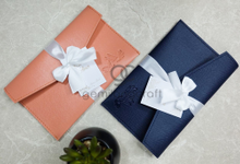 Premium envelope pouch Alicia and Almer by Gemilang Craft