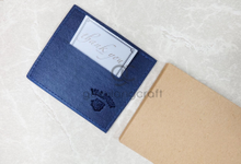 Premium card wallet for graduation MIS by Gemilang Craft